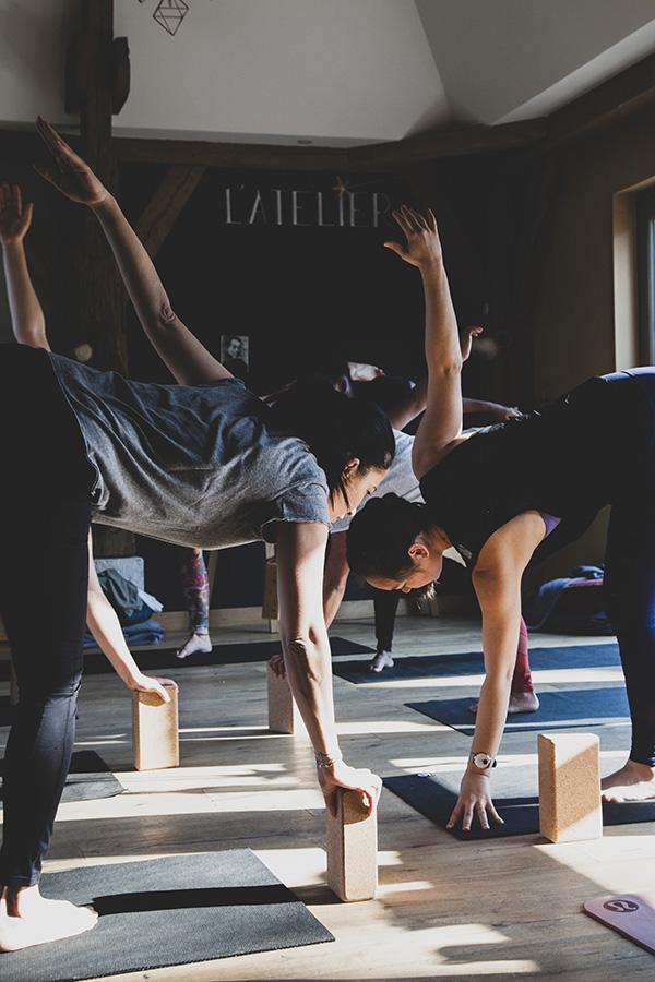 Domaine Le Coq Enchanté Cambremer Expériences bien-être Yoga